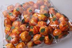 искусственные фрукты тыква желтая 3см (12 пучков по 6 шт) икусственные фрукты 7746