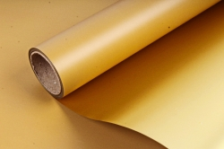 Упак. материал флористическая пленка с золотом, 58 см х 5 м, коричневый (М) 9648
