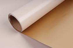 """Упак. материал пленка двухцветная """"Дуэт"""", 60см х 5м, бежевый/золотой (М) 3461"""