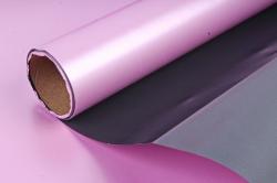 """Упак. материал пленка двухцветная """"Дуэт"""", 60см х 5м, тёмно-серый/сиреневый (М) 3416"""