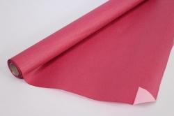 Упак.материал Рельефная Бумага, двухсторонняя, 50 cm х 5m (Бургундский/Розовый, NWPW-05)