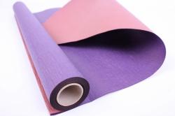 Упак.материал Рельефная Бумага, двухсторонняя, 50 cm х 5m (Фиолетовый/медный, NWPW-14)