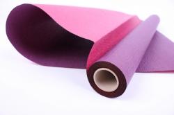 Упак.материал Рельефная Бумага, двухсторонняя, 50 cm х 5m (Сливовый/Бургундский, NWPW-15)