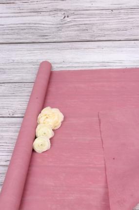 """Упак. материал """"Шелковолокно"""", 59 см х 10 м, коралловый 3170М"""