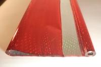 Упаковка для цветов,- Цветочная плёнка - Рулон 0,7 Голография - Красный