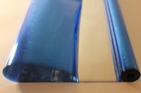 Упаковка для цветов,- Цветочная плёнка - Рулон 0,7 Голография - Синий