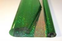 Упаковка для цветов,- Цветочная плёнка - Рулон 0,7 Голография - Зелёный