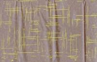 Упаковка для цветов,- Цветочная плёнка - Рулон 0,7 Граффити - желтый