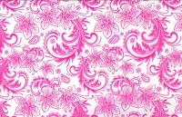 Упаковка для цветов,- Цветочная плёнка - Рулон 0,7 Кружево (240гр) малиновый