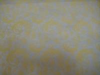 кружево 0.7 упаковка для цветов,- цветочная плёнка - рулон 0,7 кружево - желтый 7775