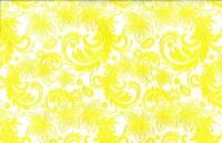 Упаковка для цветов,- Цветочная плёнка - Рулон 0,7 Кружево - желтый
