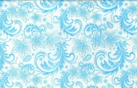 Упаковка для цветов,- Цветочная плёнка - Рулон 0,7 Кружево - голубой