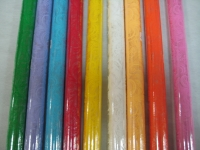 кружево 0.7 упаковка для цветов,- цветочная плёнка - рулон 0,7 кружево - салатовый 5859