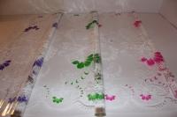 лаванда 0.7 упаковка для цветов,- цветочная плёнка - рулон 0,7 лаванда - зелёный 564
