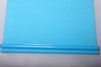 Упаковка для цветов,- Цветочная плёнка - Рулон 0,7 Матовый лак - Голубой