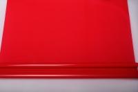 Упаковка для цветов,- Цветочная плёнка - Рулон 0,7 Матовый лак - Красный