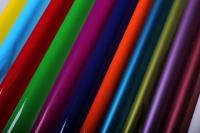 матовый лак 0,7 упаковка для цветов,- цветочная плёнка - рулон 0,7 матовый лак - малиновый 5727