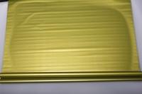 Упаковка для цветов,- Цветочная плёнка - Рулон 0,7 Матовый лак - Металлик Фисташковый