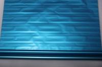 Упаковка для цветов,- Цветочная плёнка - Рулон 0,7 Матовый лак - Металлик Синий