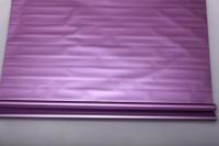 Упаковка для цветов,- Цветочная плёнка - Рулон 0,7 Матовый лак - Металлик Сиреневый