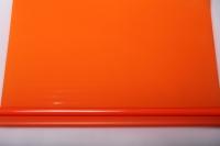 Упаковка для цветов,- Цветочная плёнка - Рулон 0,7 Матовый лак - Оранжевые