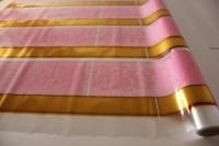Упаковка для цветов,- Цветочная плёнка - Рулон 0,7 Золушка - Розовый