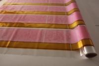 золушка 0.7 упаковка для цветов,- цветочная плёнка - рулон 0,7 золушка - розовый 14117