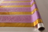 Упаковка для цветов,- Цветочная плёнка - Рулон 0,7 Золушка - Сереневый