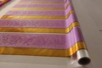 золушка 0.7 упаковка для цветов,- цветочная плёнка - рулон 0,7 золушка - сереневый 14119