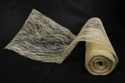 Упаковочный материал Абака натуральная 48см х 9м, Выбеленный