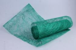Упаковочный материал Абака натуральная 48см х 9м, Зеленое яблоко