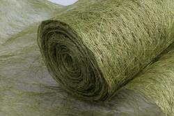 упаковочный материал абака натуральная 48см х 9м, зеленый