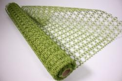 Упаковочный МатериалАжурныйКрошет,50смх4,5м(зеленый)