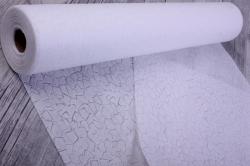 Упаковочный материал Фетр 3D Эльвинги, 50см 10м, белый   NW037-073-3D