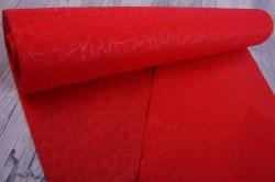Упаковочный материал Фетр 3D Эльвинги, 50см 10м, красный  NW037-008-3D
