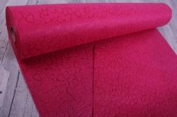 Упаковочный материал Фетр 3D Эльвинги, 50см 10м, малиновый  NW037-012-3D