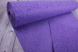 Упаковочный материал Фетр 3D Эльвинги, 50см 10м, сиреневый  NW037-109-3D