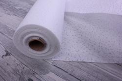Упаковочный материал Фетр 3D Искры, 50см 10м, белый  NW011-073-3D