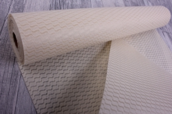Упаковочный материал Фетр 3D Волна, 50см 10м, бежевыйNW036-075-3D