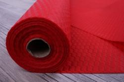 Упаковочный материал Фетр 3D Волна, 50см 10м, красный  NW036-008-3D