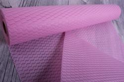 Упаковочный материал Фетр 3D Волна, 50см 10м, светло-розовый  NW036-086-3D