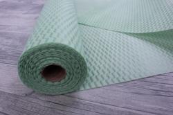 Упаковочный материал Фетр 3D Волна, 50см 10м, светло-зеленый  NW036-337C-3D