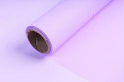 """Упаковочный Материал флористическая пленка с мерцанием """"Шелк"""", 60 см х 5 м,Пурпурный"""