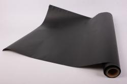 Упаковочный Материал Ламинированный фетр, однотонный , 60 см х 5 м Черный
