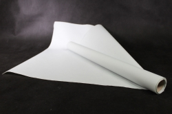 упаковочный  материал ламинированный фетр, однотонный , 60 см х 5 м фисташковый