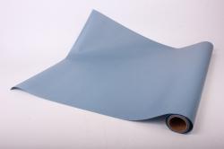 Упаковочный Материал Ламинированный фетр, однотонный , 60 см х 5 м Серо-голубой