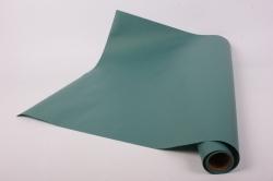 Упаковочный Материал Ламинированный фетр, однотонный , 60 см х 5 м Зеленый