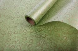 """Упаковочный материал Ламинированный фетр """"Пузыри"""", 60 см х 5 м Зеленый"""