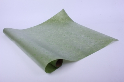 """Упаковочный Материал Ламинированный фетр """"Веточки"""" , 60 см х 5 м Темно-зеленый"""