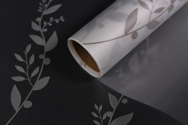 """Упаковочный материал Матовая пленка """"Веточка"""", 60 x 5m, Кофе с Молоком"""